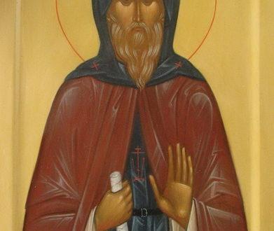Икона преподобного Моисея Угрина