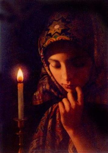 Молитва со свечой
