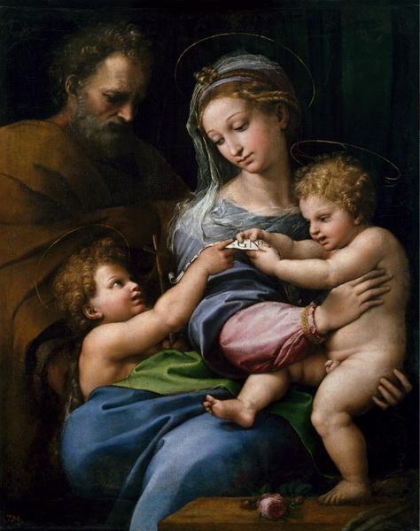 Святое семейство Рафаэль Санти