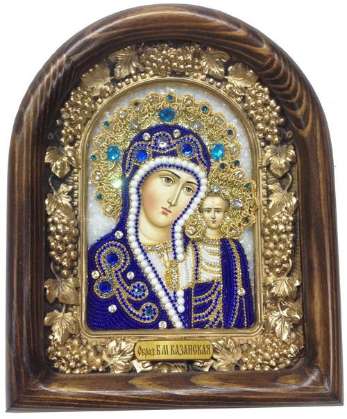 Икона Казанской Божьей Матери Дивеевской