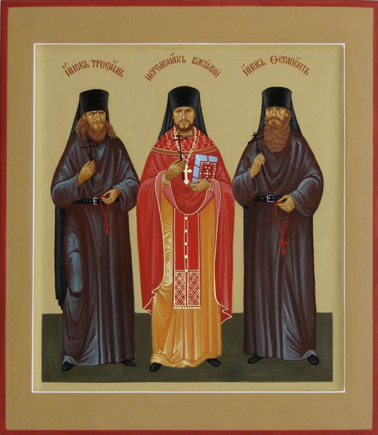 Икона Оптинских новомучеников