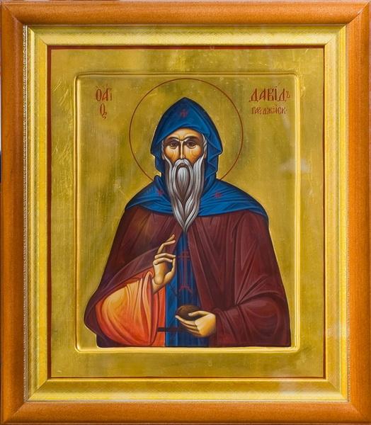 Икона Преподобный Давид Гареджийский