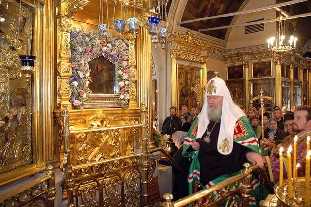 Молитва пред иконой Споручница грешных
