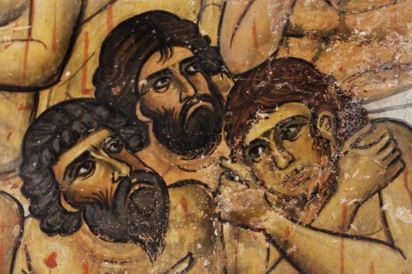 Фреска храма Пресвятой Богородицы