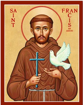 Икона Святого Франциска Ассизского