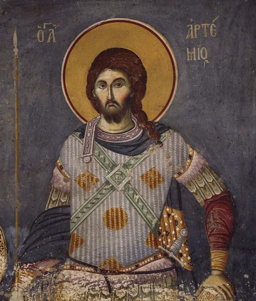 Изображение святого Артемия