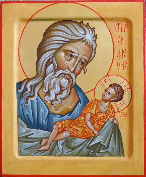 Святой Симеон Богоприимец