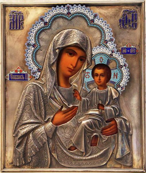 Икона Тихвинской Богоматери