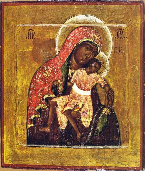 Киккская икона Божией Матери Милостивая