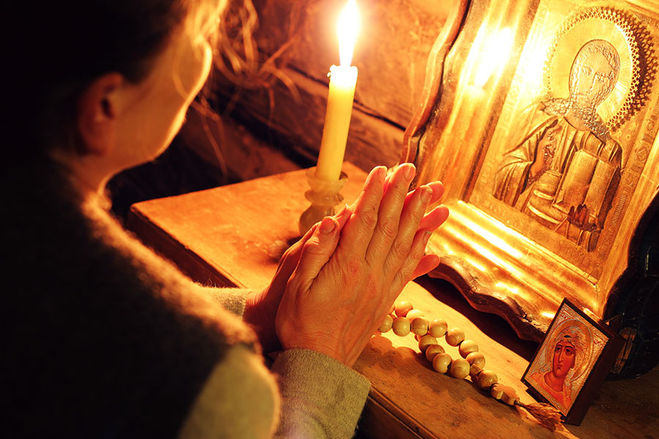 Лечение рожи молитвами