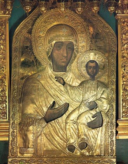 Чудотворная икона Божией Матери Одигитрия Смоленская