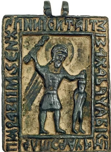 Древняя икона великомученика Никиты