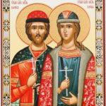 Икона князей Бориса и Глеба