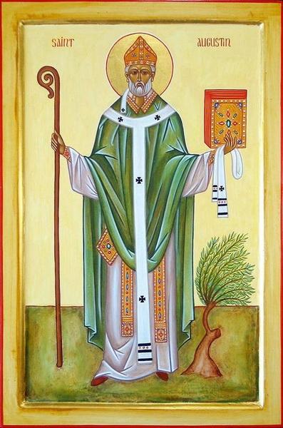 Икона Блаженного Августина