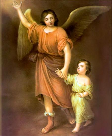 Картина ангел хранитель с младенцем