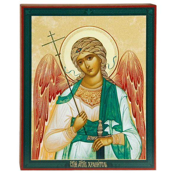 Икона с изображением ангела хранителя