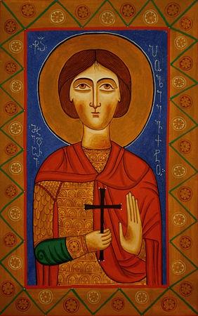 Икона святого мученика Полиевкта