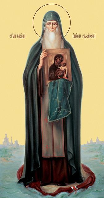 Икона Василия Рязанского