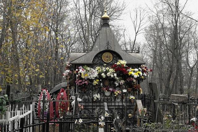 Место захоронения Матроны Московской