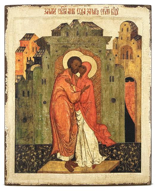 Икона Богоотцам Иоакиму и Анне