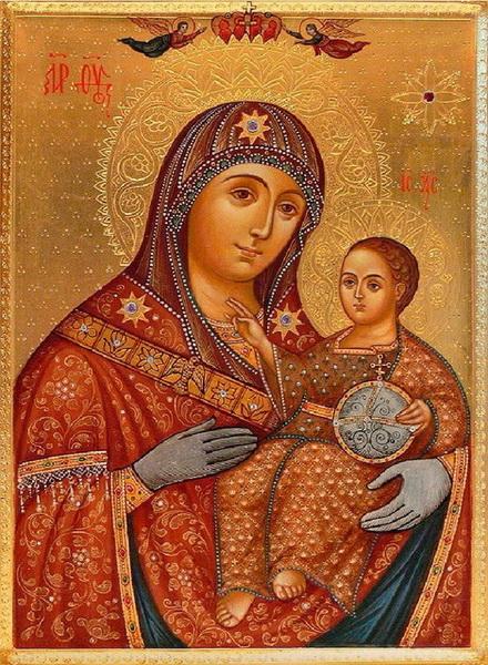 Вифлеемская икона Богоматери