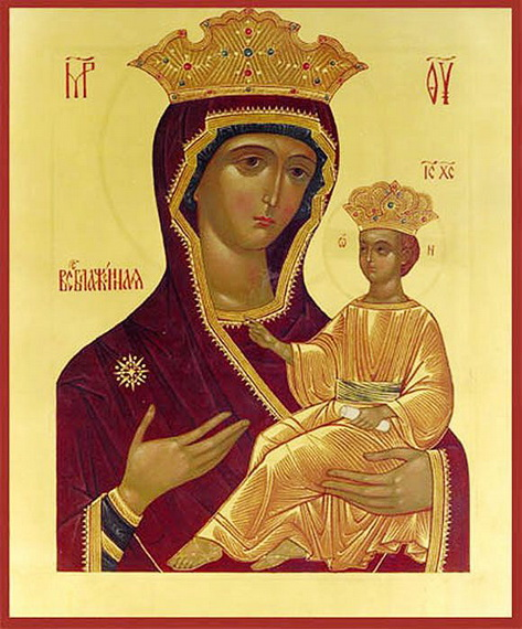 Икона Божьей Матери Всеблаженная (Паммакариста)