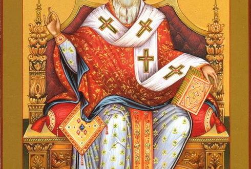 Икона святого Спиридона Тримифунтского
