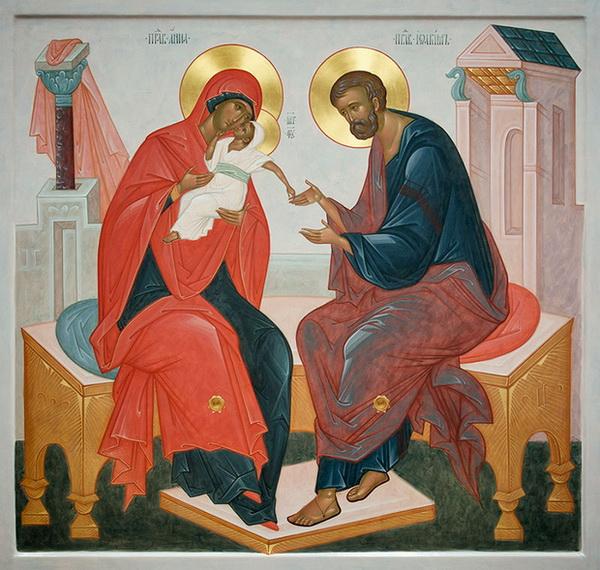 Молитва божьей матери дарование ребенка