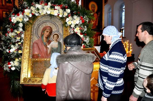 Молитвы перед иконой Божьей Матери