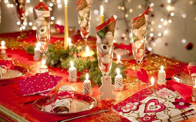 Картинка Рождественского стола