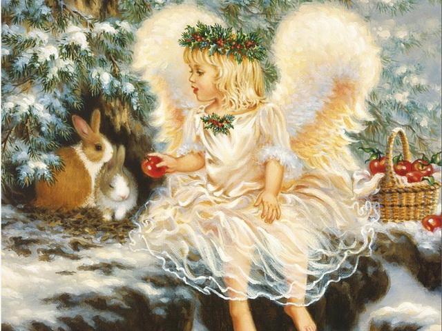 Ангелочек на Рождество