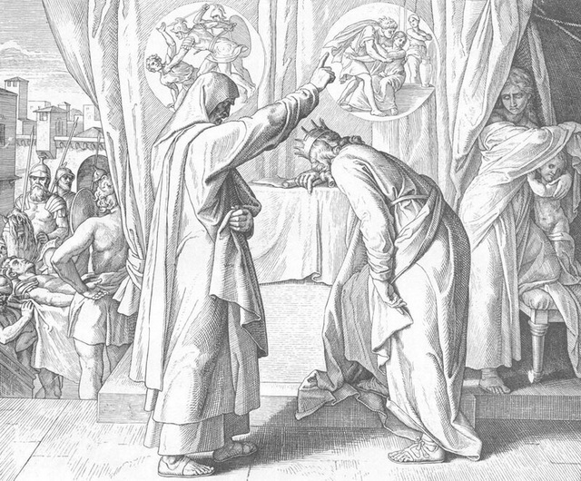 Господь посылает Нафана к Давиду