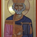 Икона Давид Псалмопевец