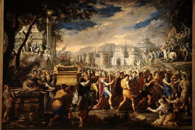 Перенесение ковчега Давидом
