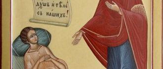 Икона Целительница