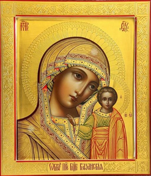 Икона Казанской Божьей