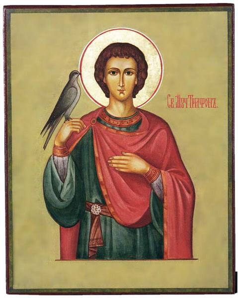 Икона мученика Трифона