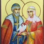 Икона Святые Петр и Феврония