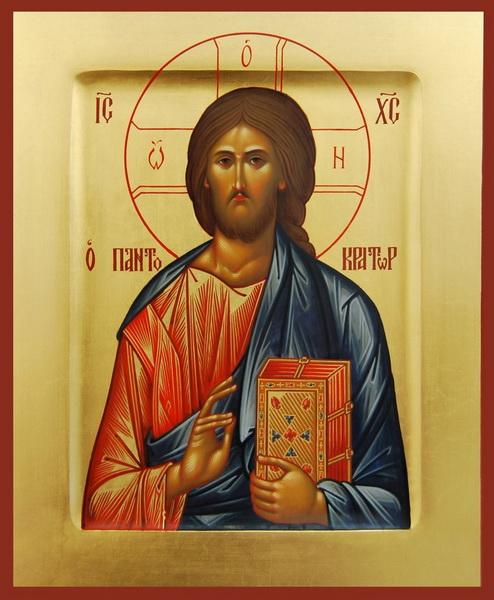 Икона Господь Пантократор