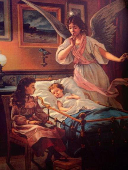 Ангел-Хранитель у постели больного