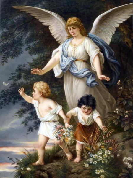 Ангел-Хранитель с детьми