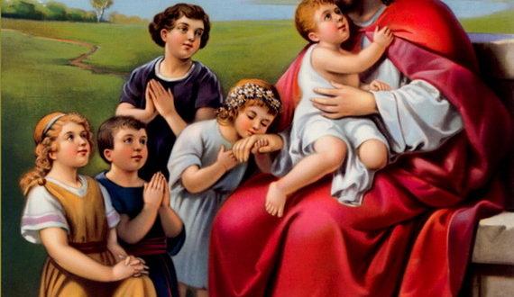 Иисус среди детей