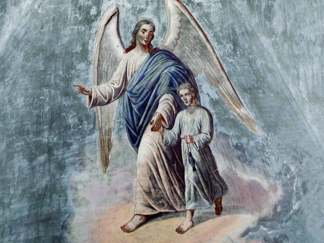 Ангел, уводящий от беды
