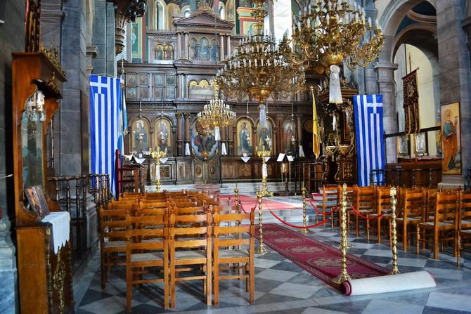 Греческий православный храм