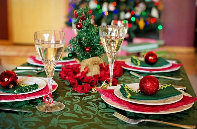 Рождественский стол