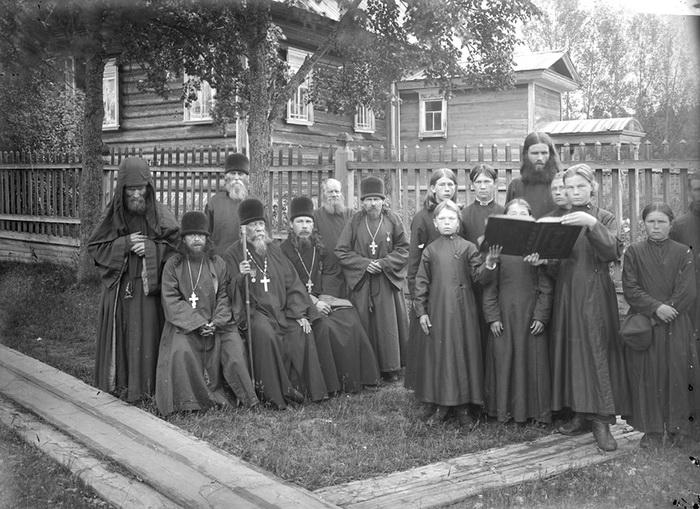 Монахи старообрядцы, Благовещенский Керженский единоверческий монастырь, 1897 год