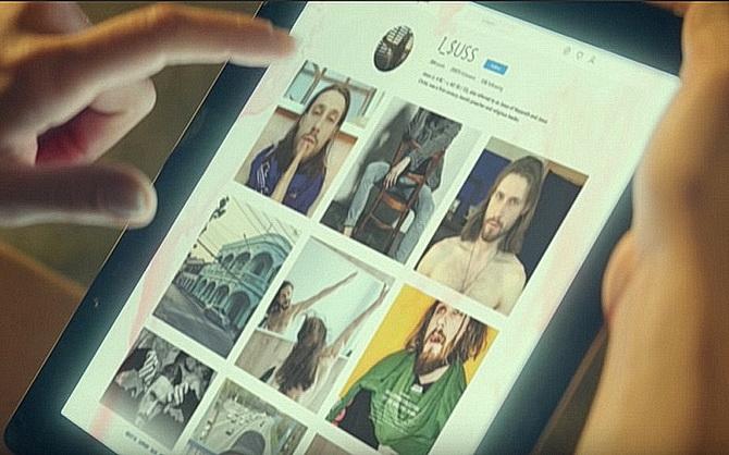 Скриншот из клипа i_$uss группы Ленинград