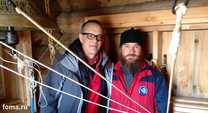 Том Хэнкс и православный священник