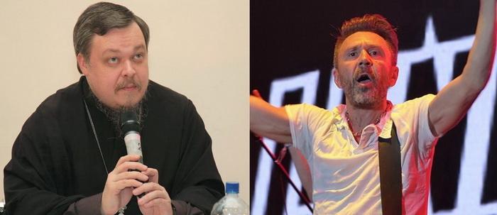 Всеволод Чаплин и Сергей Шнуров