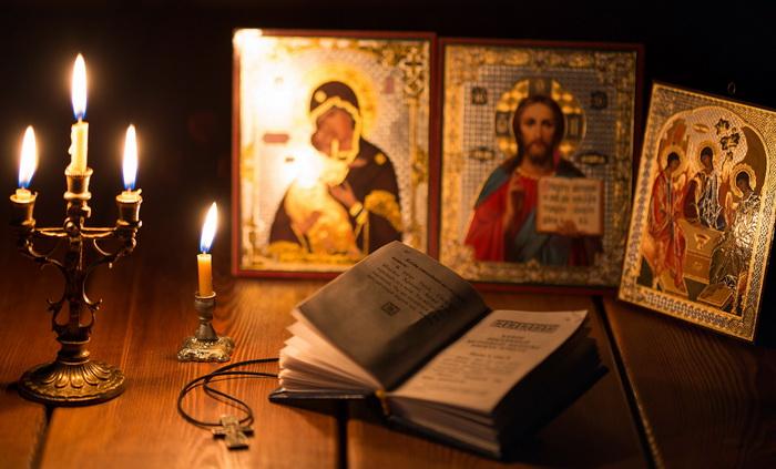 Атрибуты православия у гадалок